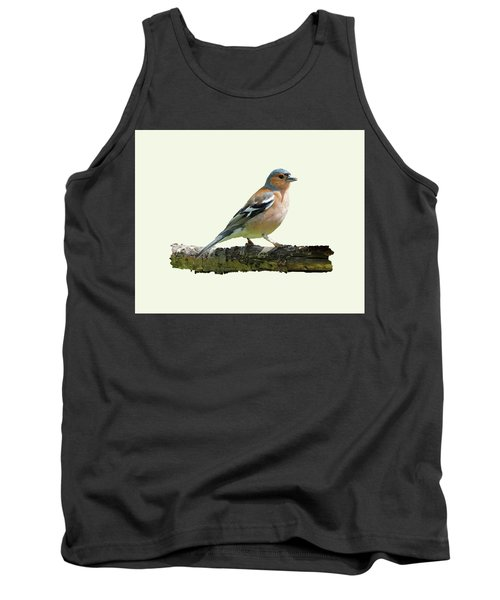 Male Chaffinch, Cream Background Tank Top