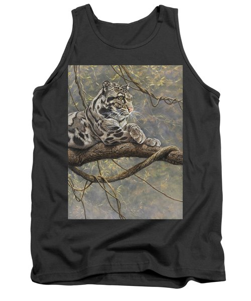 Male Clouded Leopard Tank Top