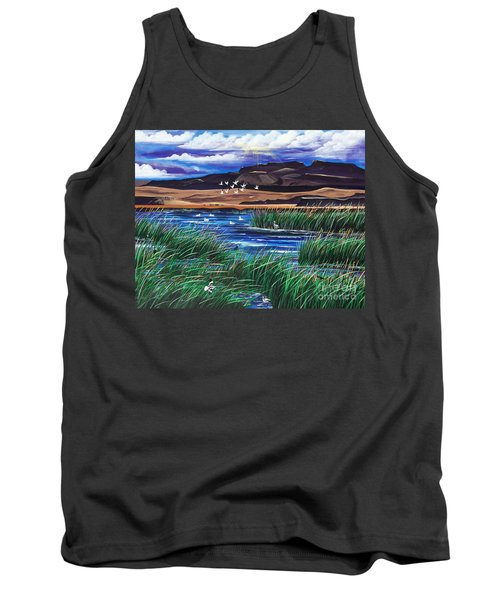 Malhuer Bird Refuge Tank Top