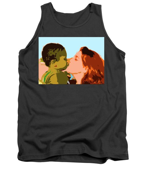 Mama And Me Tank Top by Josy Cue