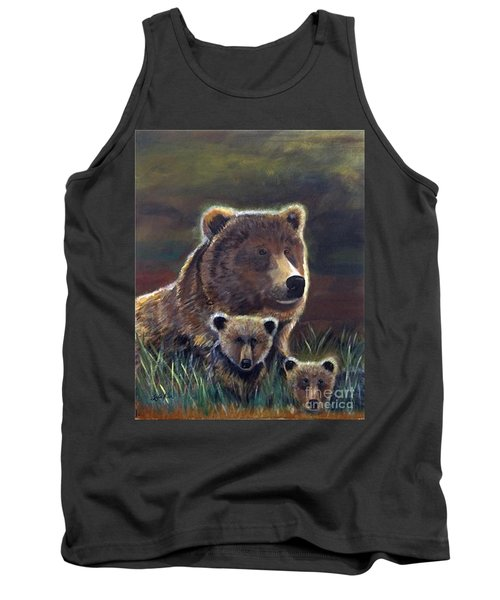 Tank Top featuring the painting Mammas Warmth by Leslie Allen