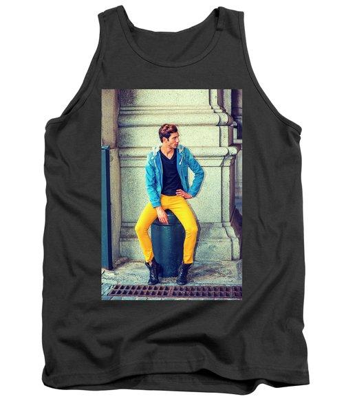 Man Street Fashion Tank Top