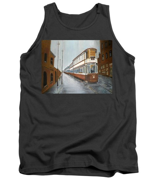 Manchester Piccadilly Tram Tank Top