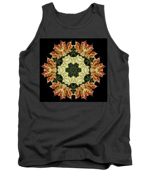 Mandala Autumn Star Tank Top
