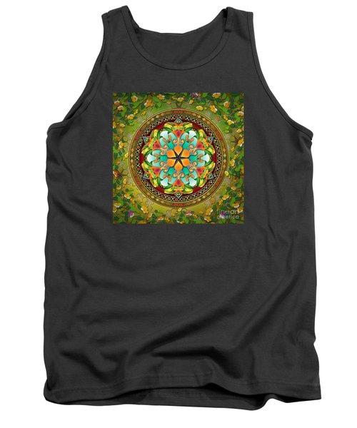 Mandala Evergreen Tank Top