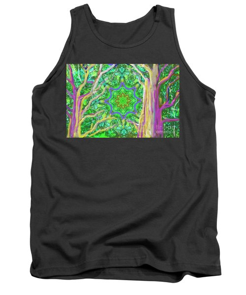 Mandala Forest Tank Top