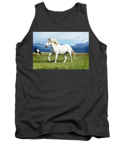 Mane And Feet Flying  Tank Top