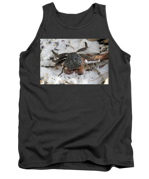 Tank Top featuring the photograph Mangrove Tree Crab by Doris Potter