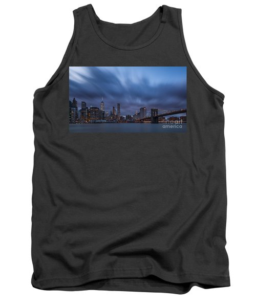 Manhattan And Brooklyn Bridge Tank Top
