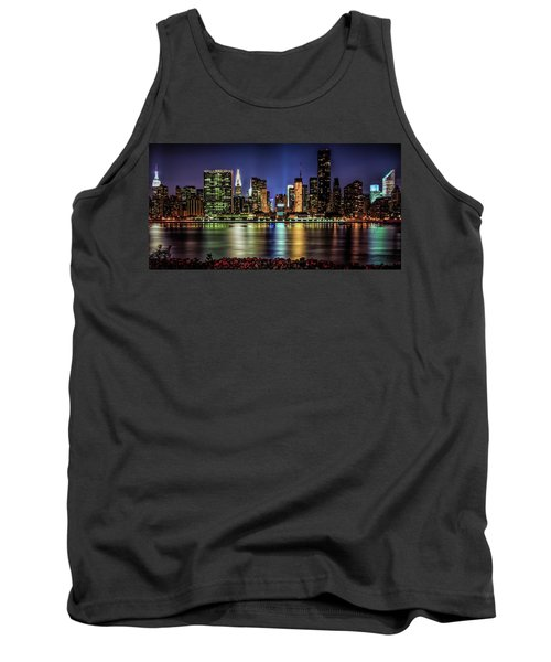 Tank Top featuring the photograph Manhattan Beauty by Theodore Jones