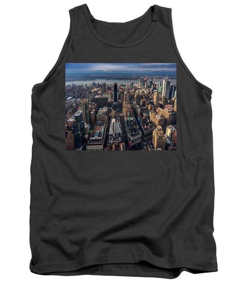 Manhattan, Ny Tank Top by Martina Thompson