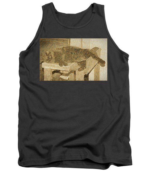 Mannie Is Relaxing Tank Top