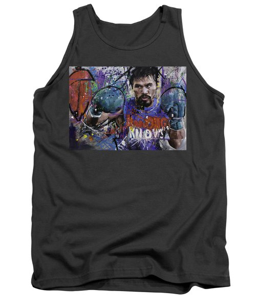 Manny Pacquiao Tank Top by Richard Day