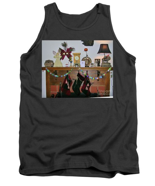 Mantel With Mask Tank Top