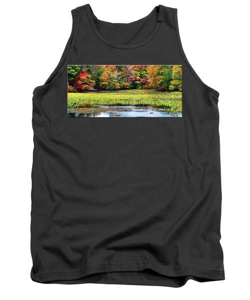 Many Colors Of Autumn Tank Top