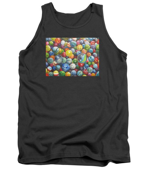 Many Marbles Tank Top by Oz Freedgood