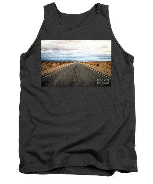 Many Miles Through Mojave Desert Tank Top