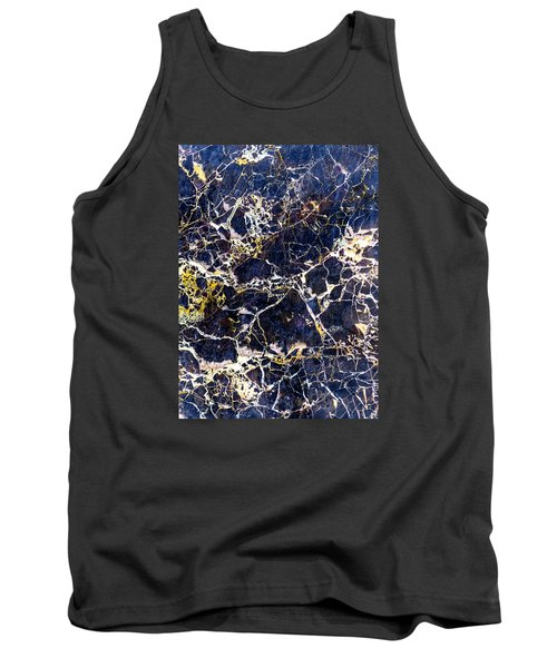 Marble Stone Texture Wall Tile Tank Top by John Williams