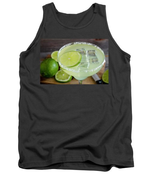 Tank Top featuring the photograph Margarita Close Up by Teri Virbickis