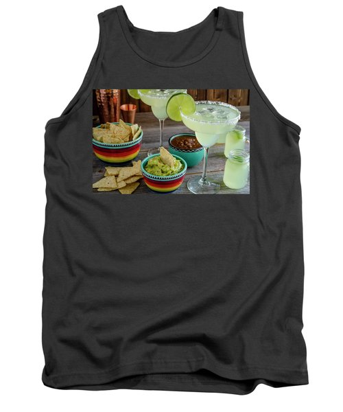 Tank Top featuring the photograph Margarita Party by Teri Virbickis