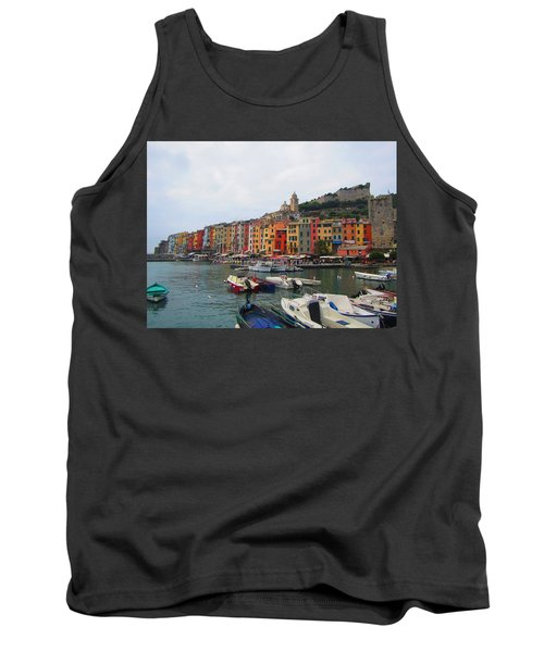 Tank Top featuring the photograph Marina Of Color by Christin Brodie