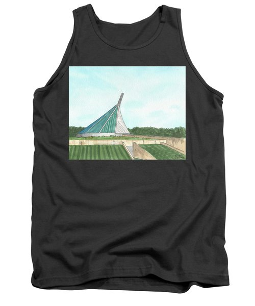 Marine Corps Museum From The Chapel Tank Top