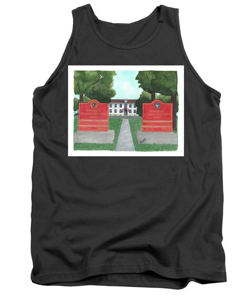 Marine Forces Europe And Marine Forces Africa Tank Top