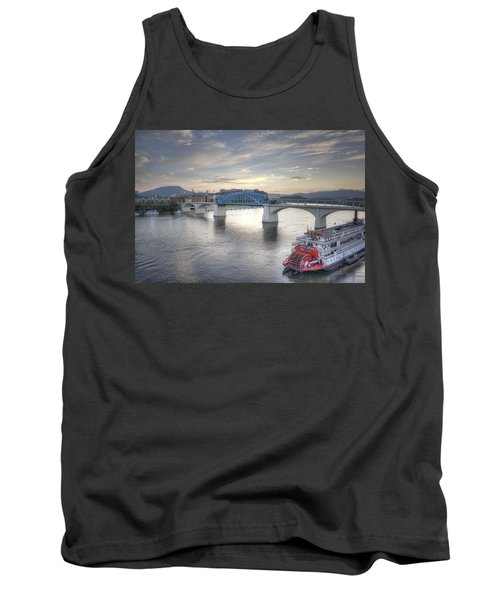 Market Street Bridge Tank Top by David Troxel