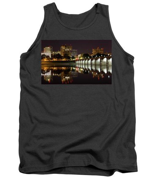 Market Street Bridge Reflections Tank Top
