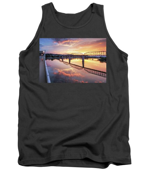 Market Street Jog At Sunrise Tank Top
