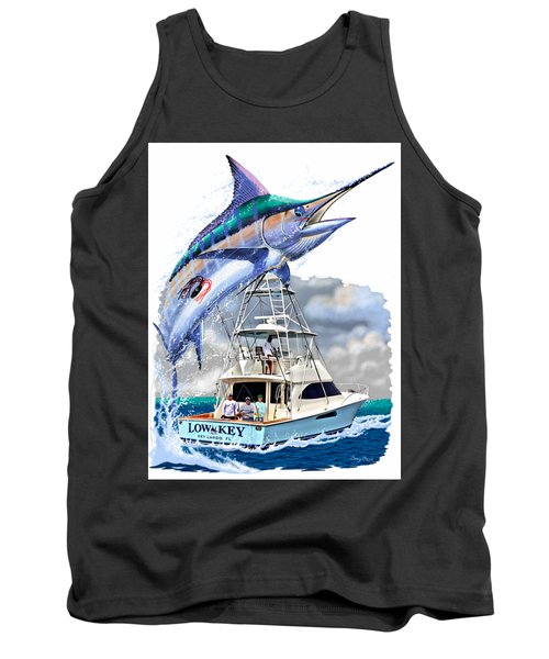 Marlin Commission  Tank Top by Carey Chen