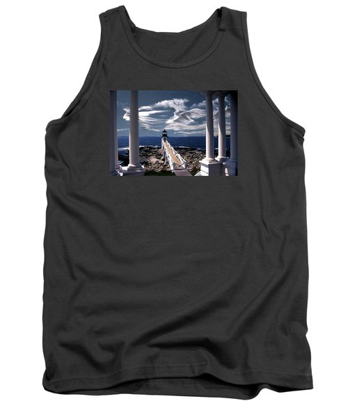 Marshall Point Lighthouse Maine Tank Top