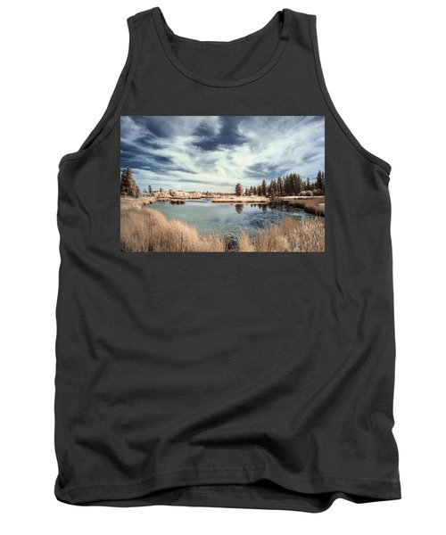 Marshlands In Washington Tank Top by Jon Glaser