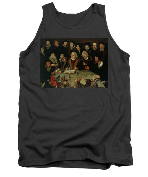 Martin Luther In The Circle Of Reformers Tank Top