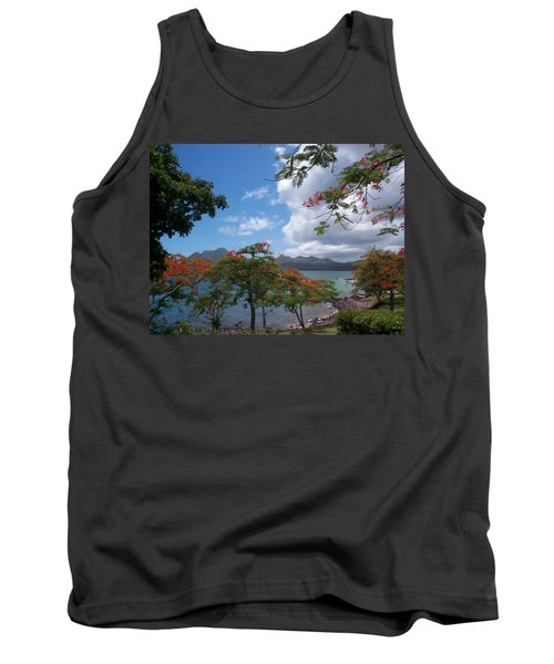 Tank Top featuring the photograph Martinique by Mary-Lee Sanders