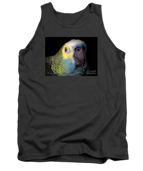 Marty The Blue Front Amazon Tank Top