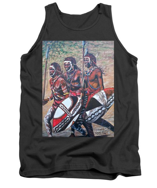 Masaai Warriors Tank Top by Sigrid Tune