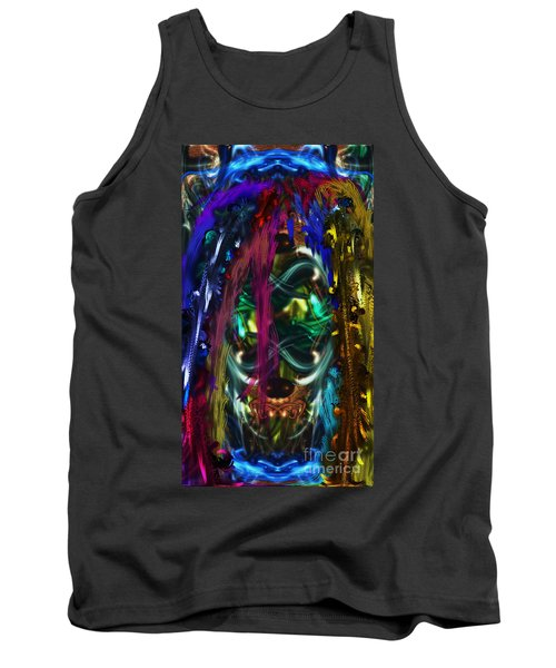 Mask Of The Spirit Guide Tank Top