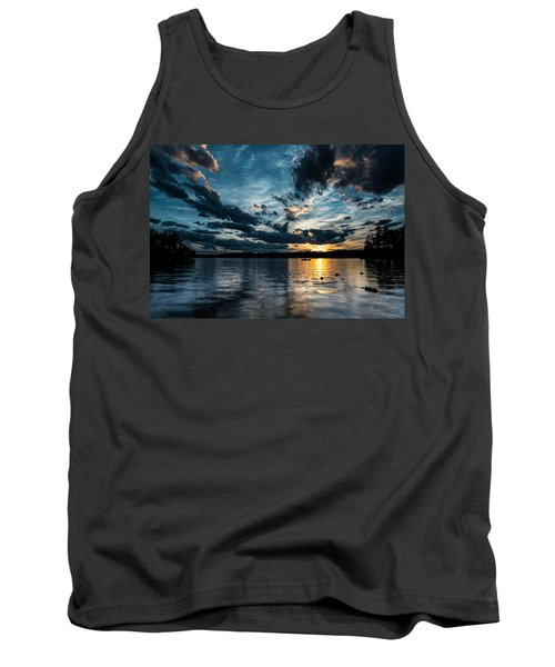 Masscupic Lake Sunset Tank Top