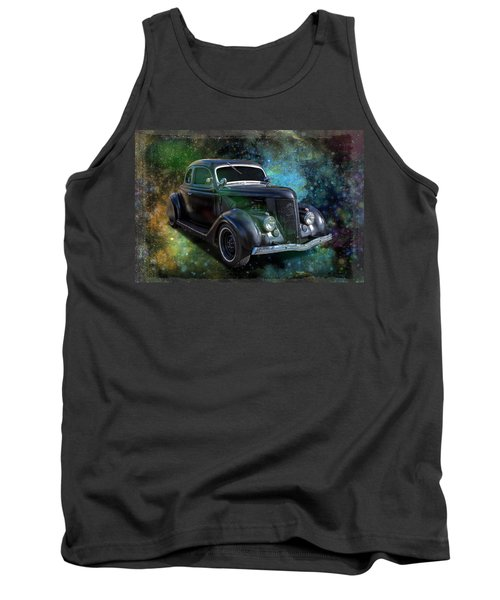 Matt Black Coupe Tank Top by Keith Hawley