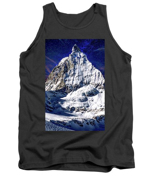 Matterhorn At Twilight Tank Top