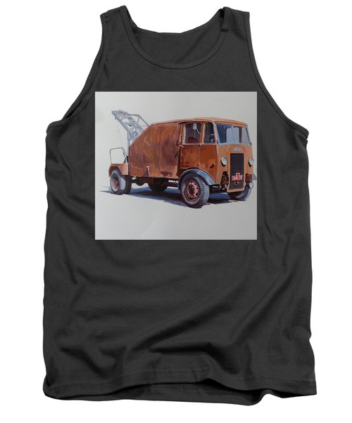 Tank Top featuring the painting Maudslay Wrecker. by Mike  Jeffries