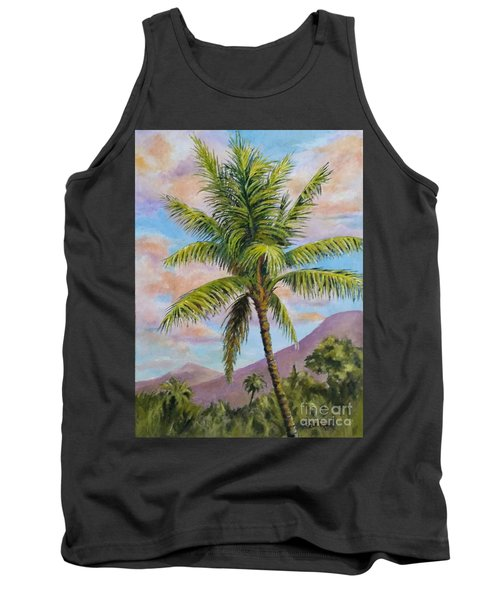 Maui Palm Tank Top by William Reed