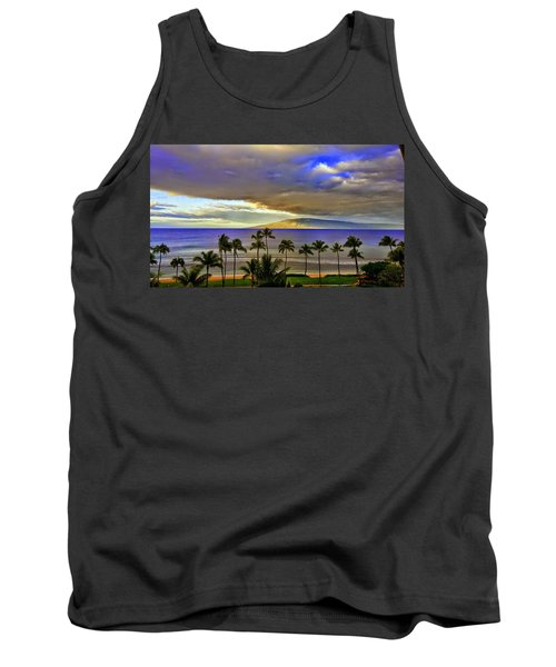 Maui Sunset At Hyatt Residence Club Tank Top