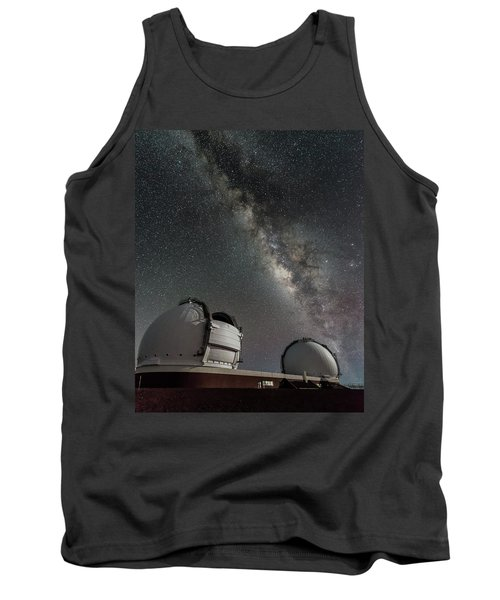 Mauna Kea Night Tank Top by Allen Biedrzycki