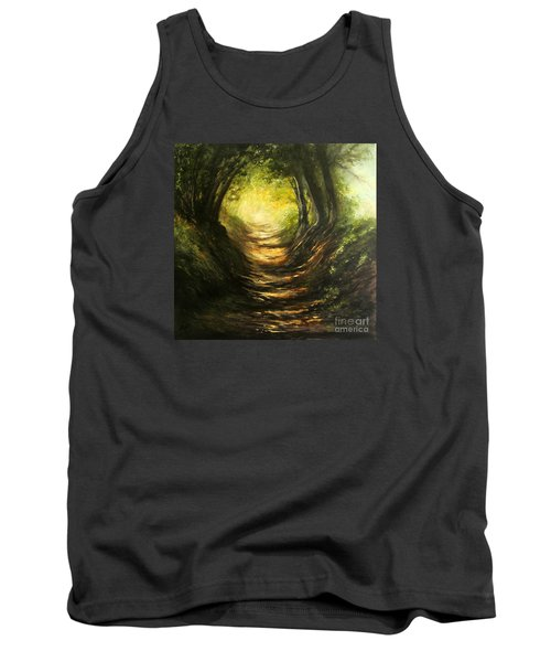May Your Light Always Shine Tank Top by Valerie Travers