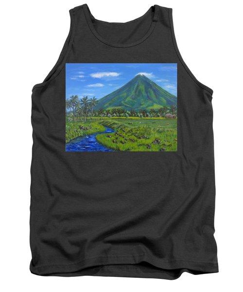 Mayon Volcano Tank Top