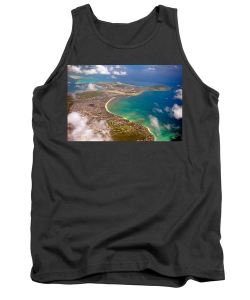 Tank Top featuring the photograph Mcbh Aerial View by Dan McManus