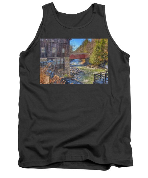 Mcconnells Mill Winter  Tank Top