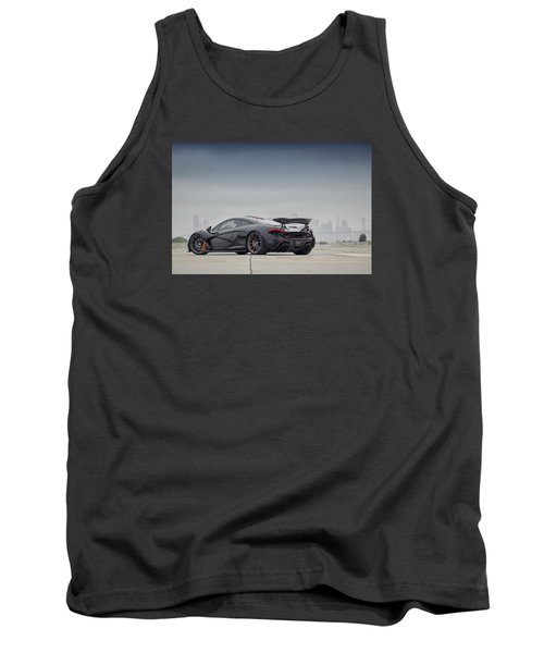 Tank Top featuring the photograph #mclaren Mso #p1 by ItzKirb Photography